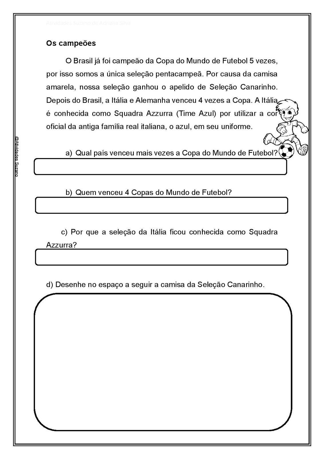Pin De Francis Em Copa Texto Sobre Educacao Educacao Fisica