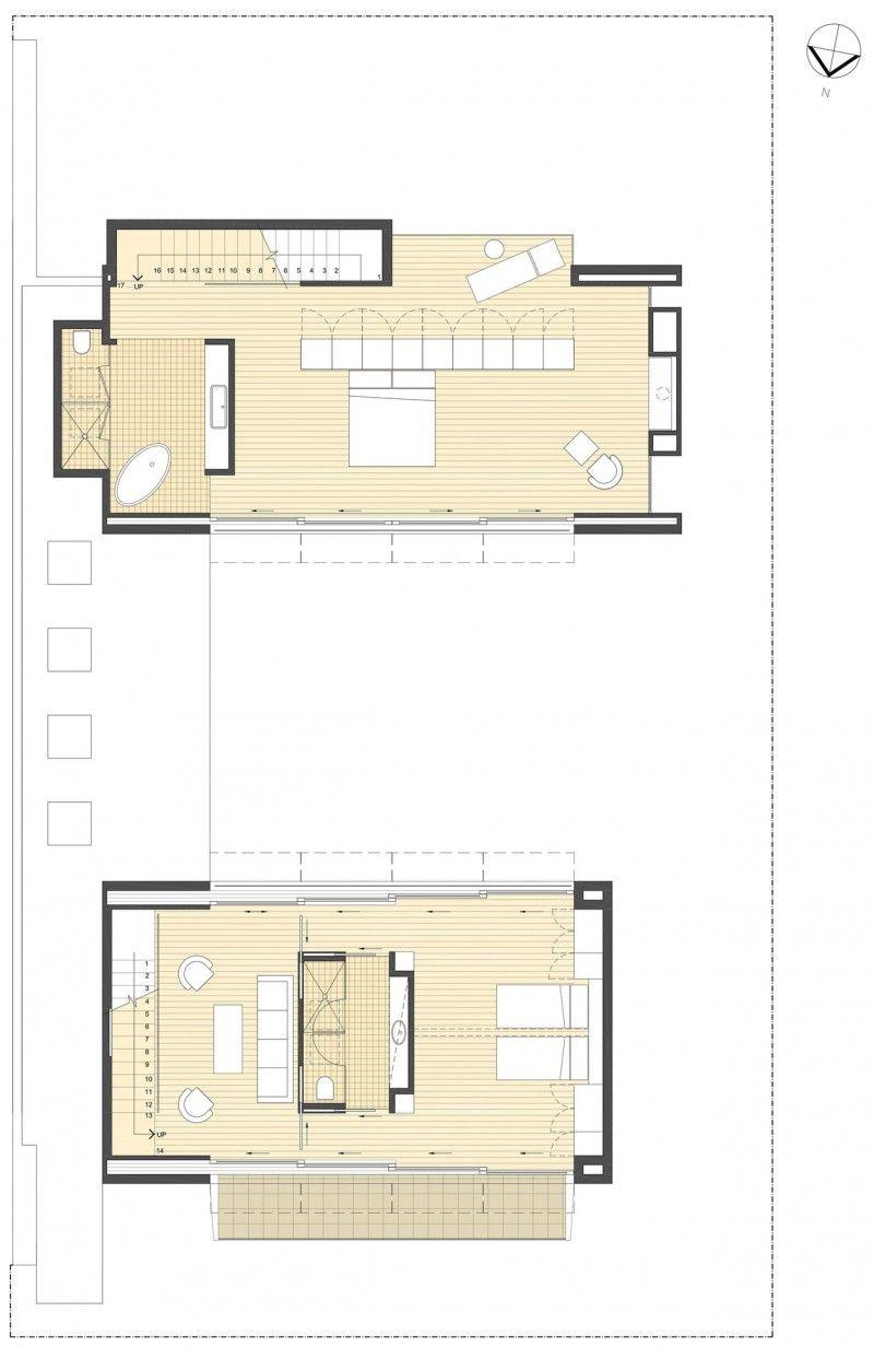 City House By Architex City House Floor Plans House Design