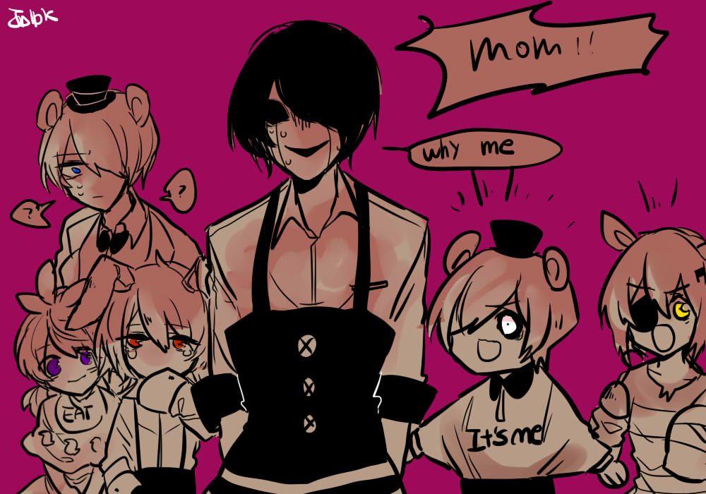 Why Me By Jplpk On Deviantart Fnaf Anime Fnaf Marionette Fnaf