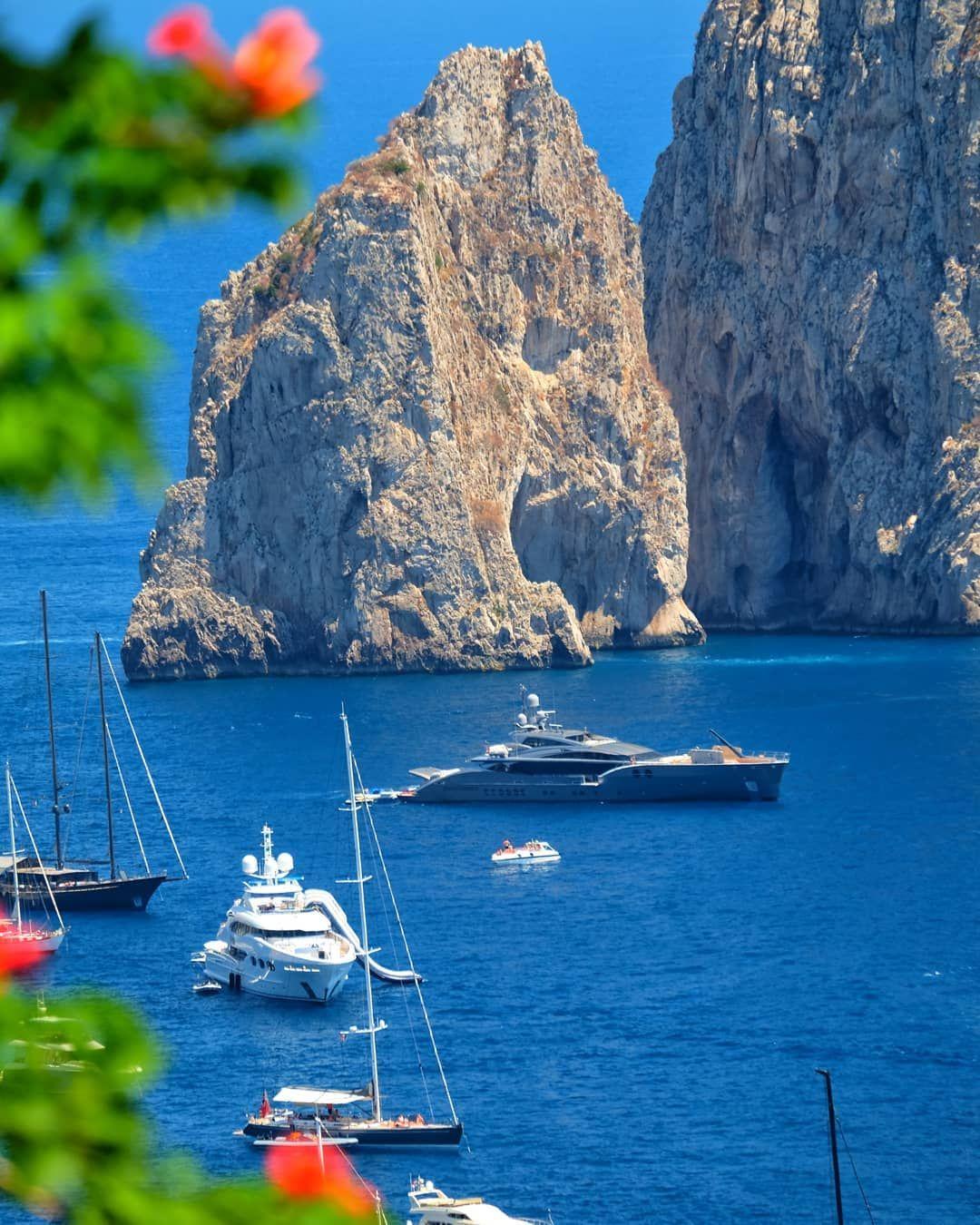Capri Italy From All Parts Of The World Italy Holidays