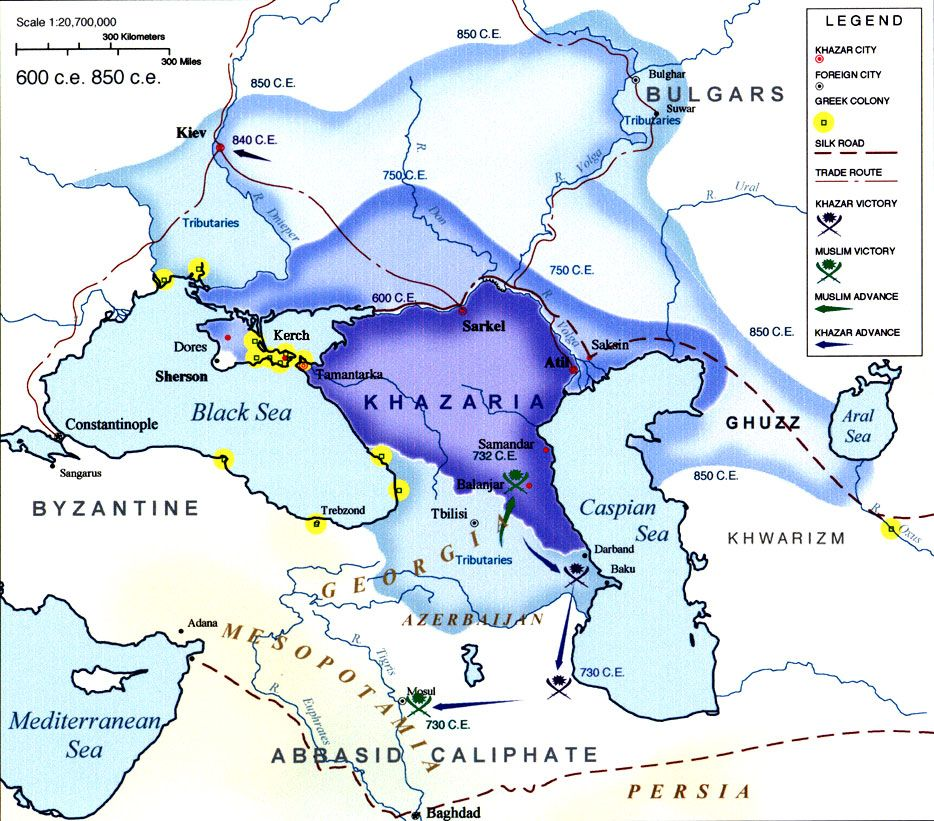 Maps of the khazar kingdom from 300 ce to 1000 ce maps of the khazar kingdom from 300 ce to 1000 ce sciox Image collections