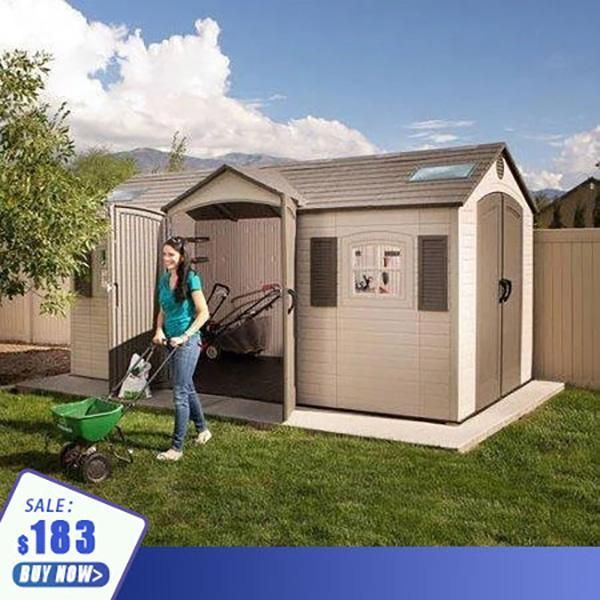 Make your home a little warmer Plastic storage sheds