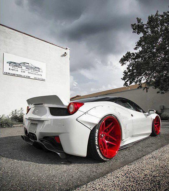 #libertywalk 458 ! Craziest Ferrari ever  _______________ [  : @drivingforceclub ] | #elite7garage | #Ferrari | #458 | by ferrari_elite