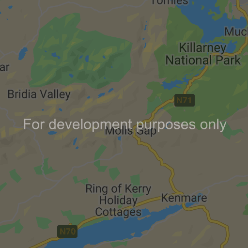 Map Of Ireland Beaches.Ring Of Kerry Map Towns Beaches Castles Sights Map Of Ireland