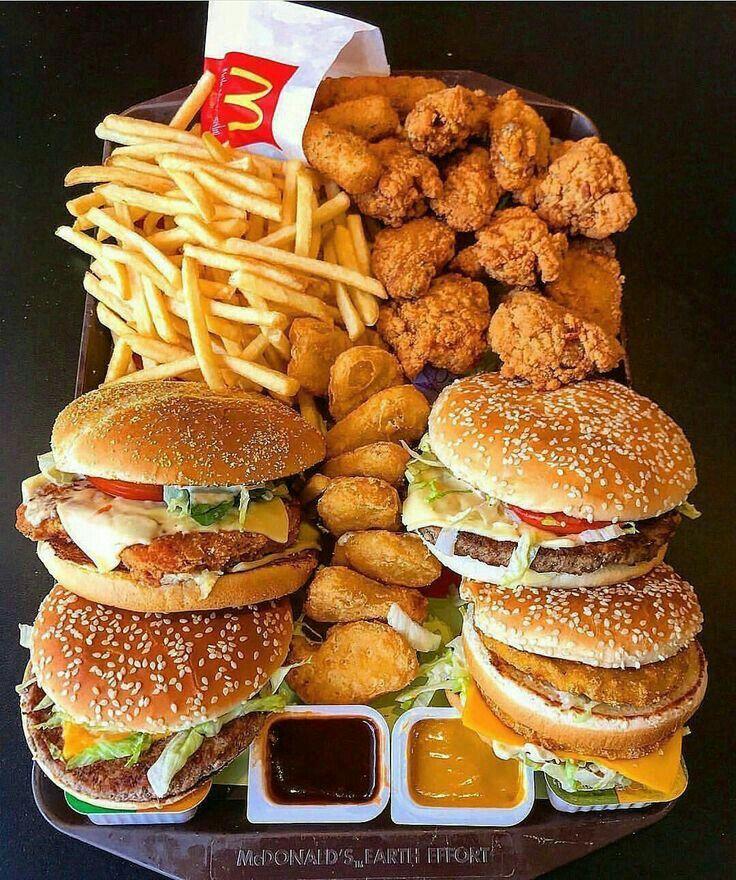 MCDONALD'S, Chicken Sandwiches, Burgers, Chicken Nuggets