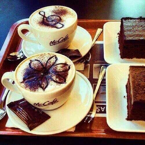 Chocolate, coffee and cakes♥