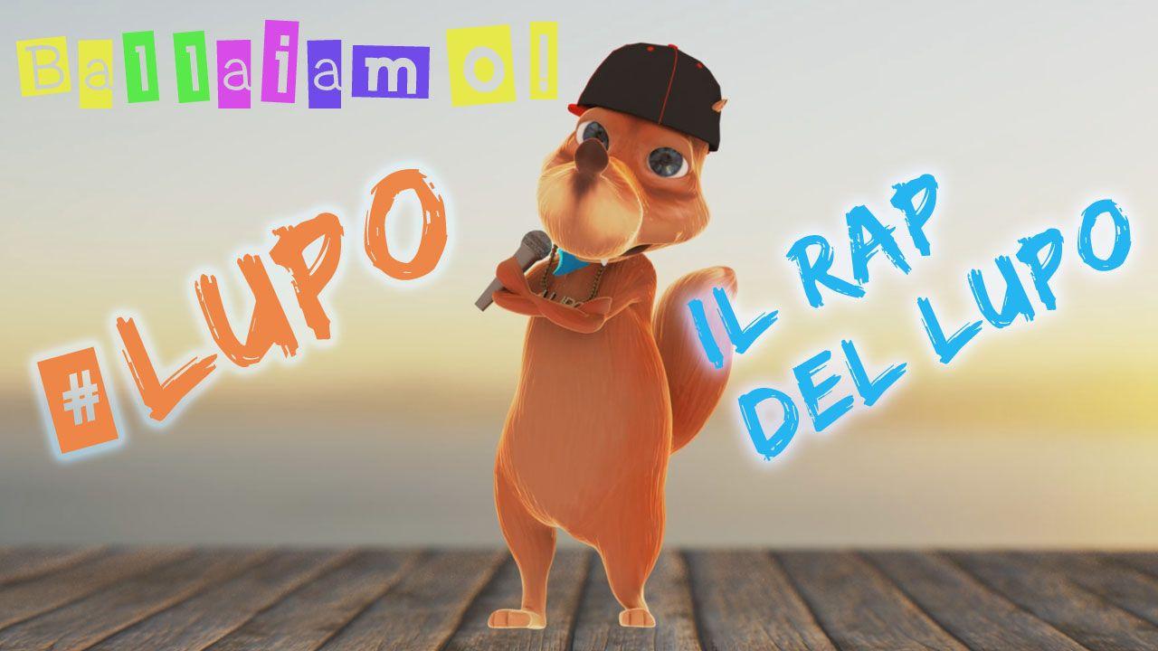 Loghi bambini ~ Rap del lupo canzoncine divertenti per bambini! rap del lupo è