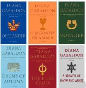 LOVE these books!!   by Diana Gabaldon