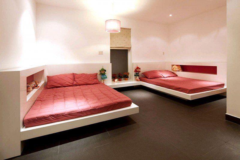 20 schöne Schlafzimmer mit schwebenden Betten betten  ...