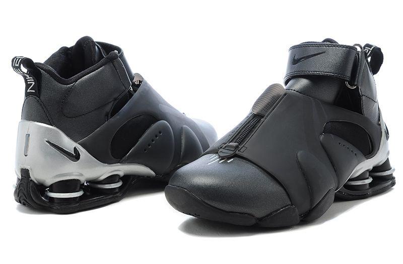 Cheap-Nike-Shox-Vince-Carter-Basketball-Shoes-black-