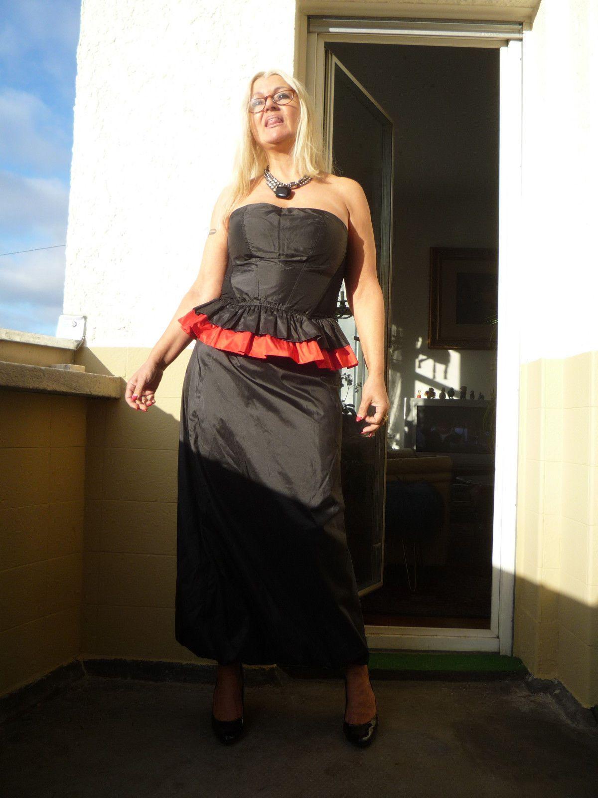 Cristies , Corsage Moulin Rouge + Abendrock ,für die Luxus Lady , M in  Kleidung