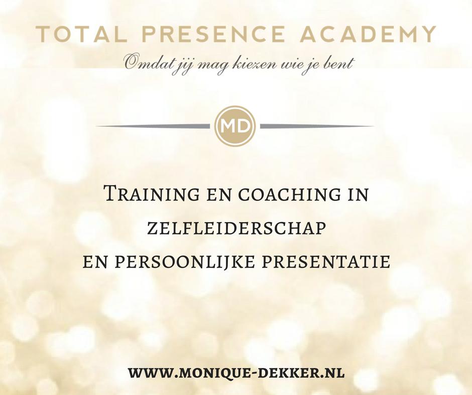 persoonlijke presentatie