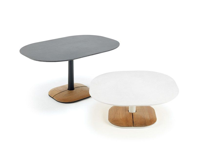 Online Enjoy Coffee Table By Ethimo Ceramic Garden Side Collection