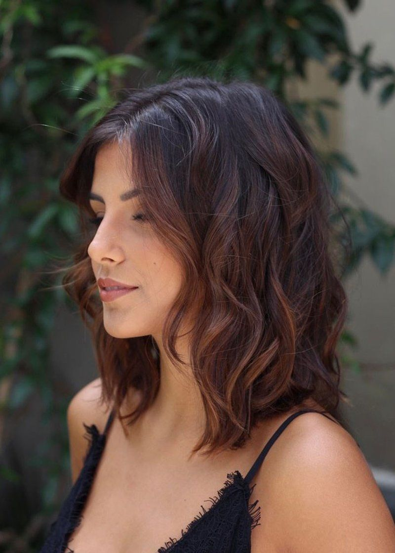 2019 Fall Hair Color Trends Chocolate Hair Blends