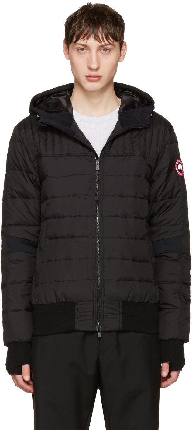 CANADA GOOSE Black Down Cabri Jacket. #canadagoose #cloth #jacket