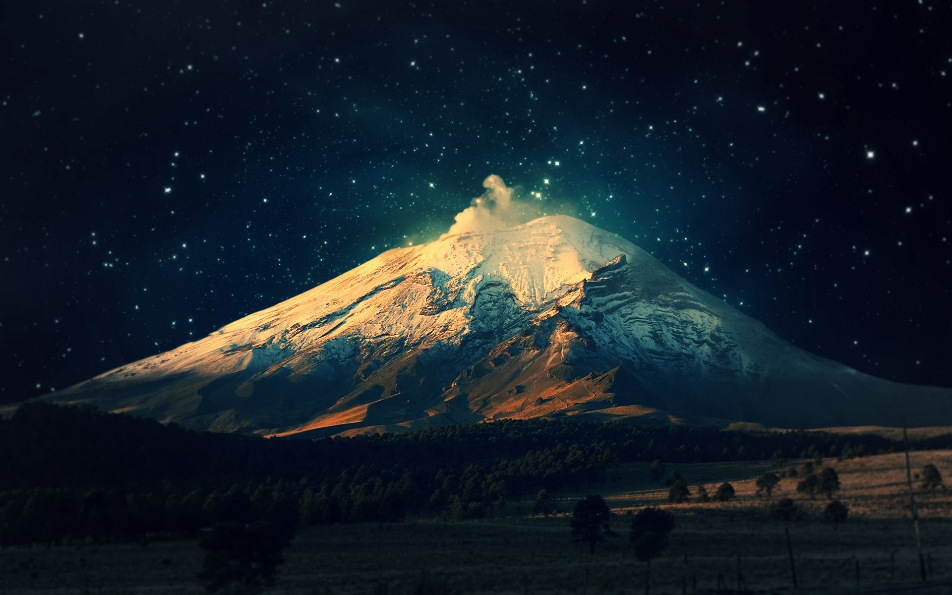 night mountain desktop wallpapers for desktop wallpaper 1920x1200