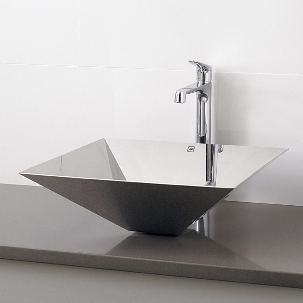 Decolav Stainless Steel Vessel Sink.