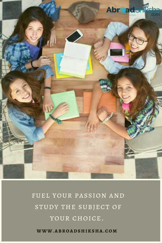 Don't compromise on your passion! Now study the course of