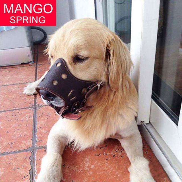 Hot Pet Dog Adjustable Mask Anti Bark Bite Mesh Soft Mouth Muzzle