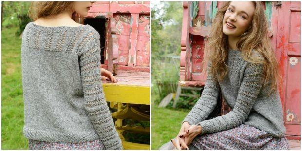 Niobe Jumper from Purl Alapaca Designs on the LoveKnitting blog