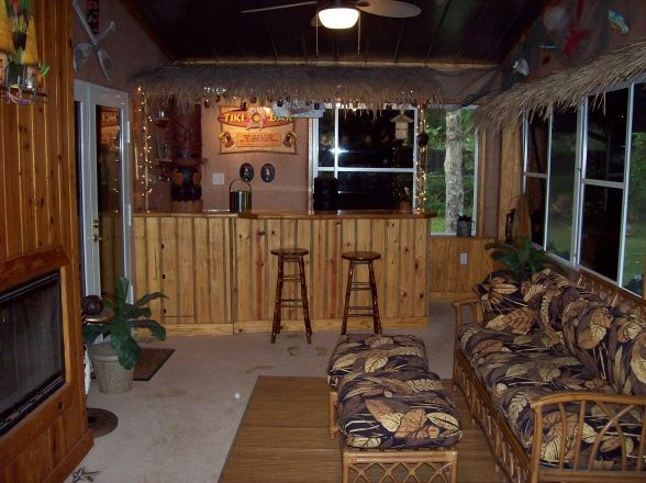 Bar On Porch : For the tiki bar on pinterest bars beach signs and