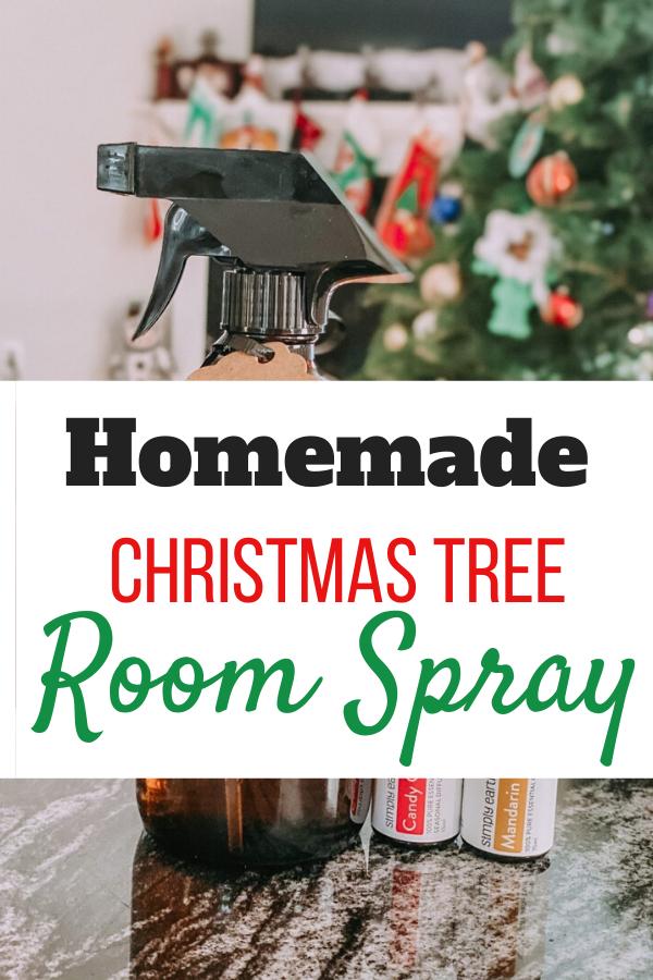 Diy Christmas Essential Oil Room Spray 12 Days Of Christmas Christmas Scents Homemade Christmas Tree Essential Oils Room Spray