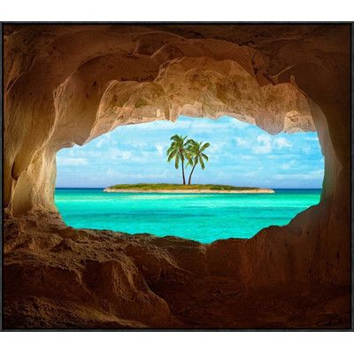 Global Gallery 'Paradise' by Matt Anderson Framed Photographic Print Size: