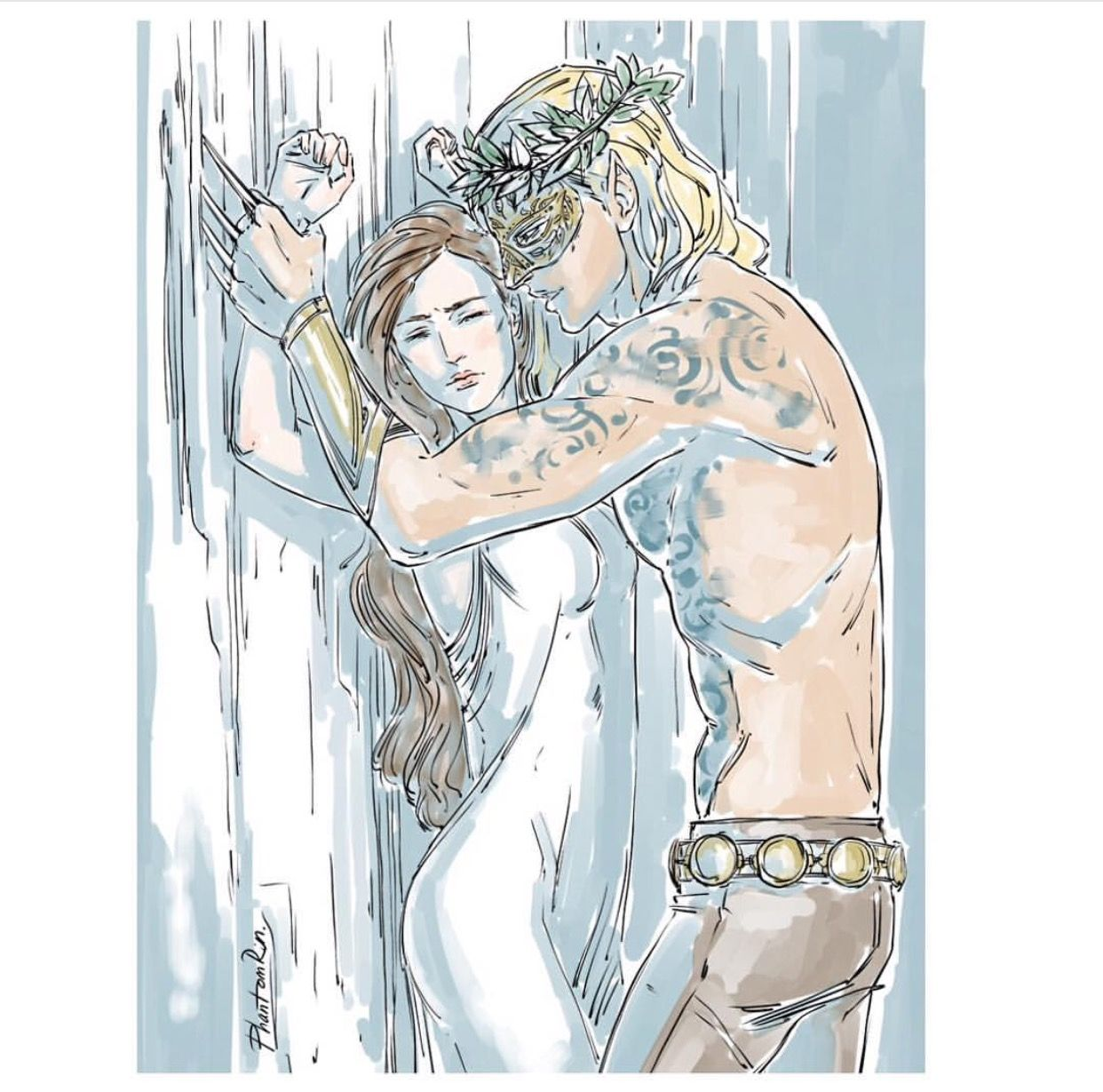 Tamlin And Feyre Scene With Images A Court Of Mist And Fury