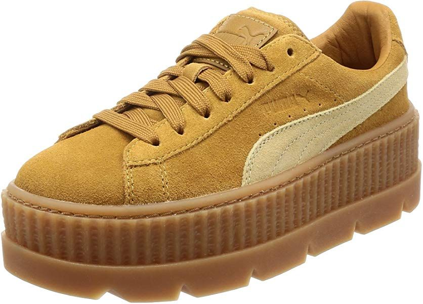 8209d322b261c Puma Fenty Cleated Creeper Golden Brown Suede - 6 UK: Amazon.co.uk ...