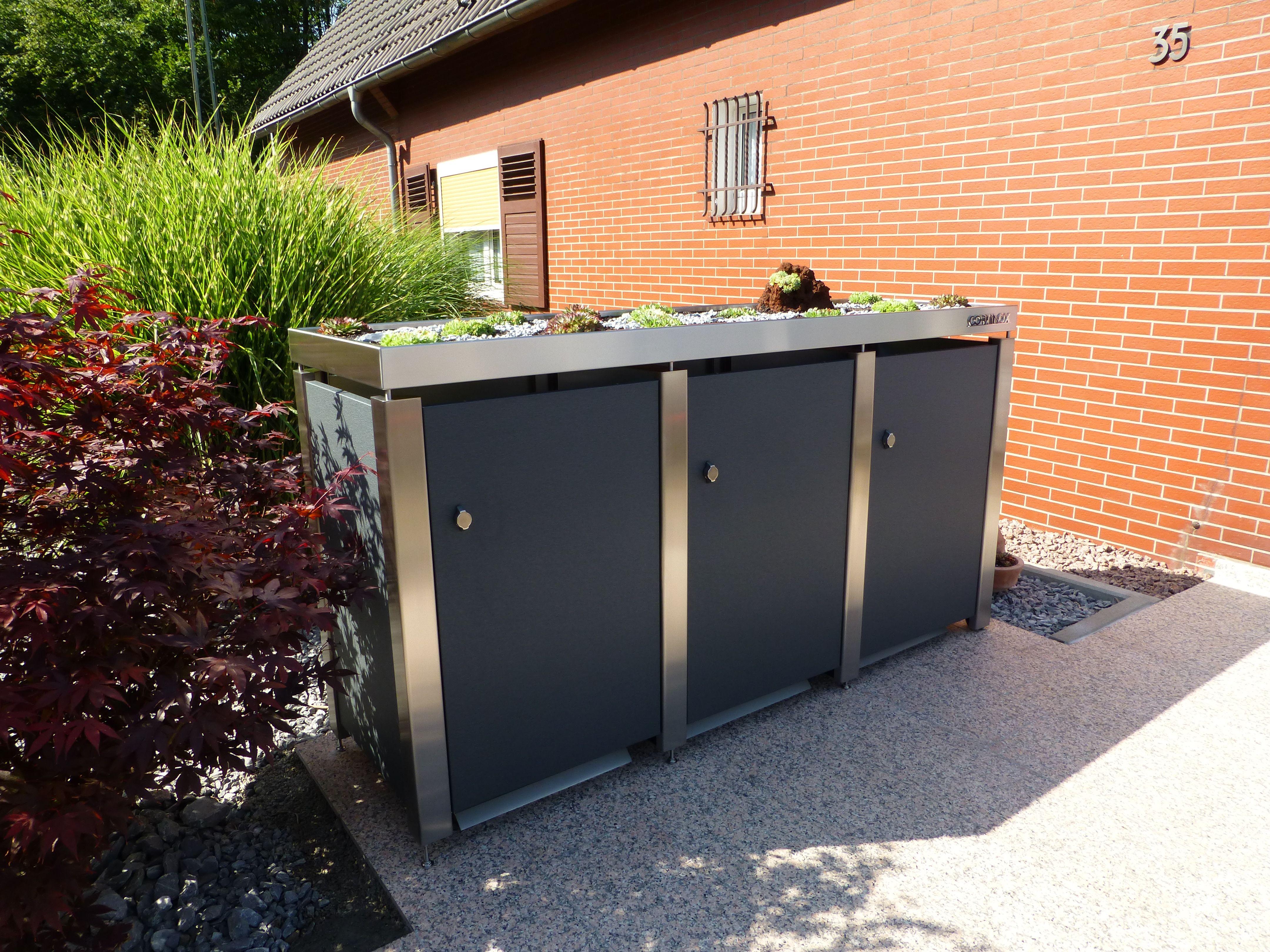 Mülltonnenhaus Qualität hat ihren Preis Letztendlich
