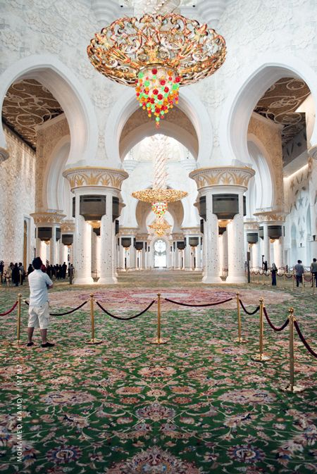 Exterior: Sheikh Zayed Mosque Abu Dhabi, UAE Photography By Mohamed