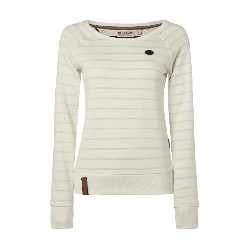 Naketano #Sweatshirt mit #Streifenmuster im #Inside Out Look
