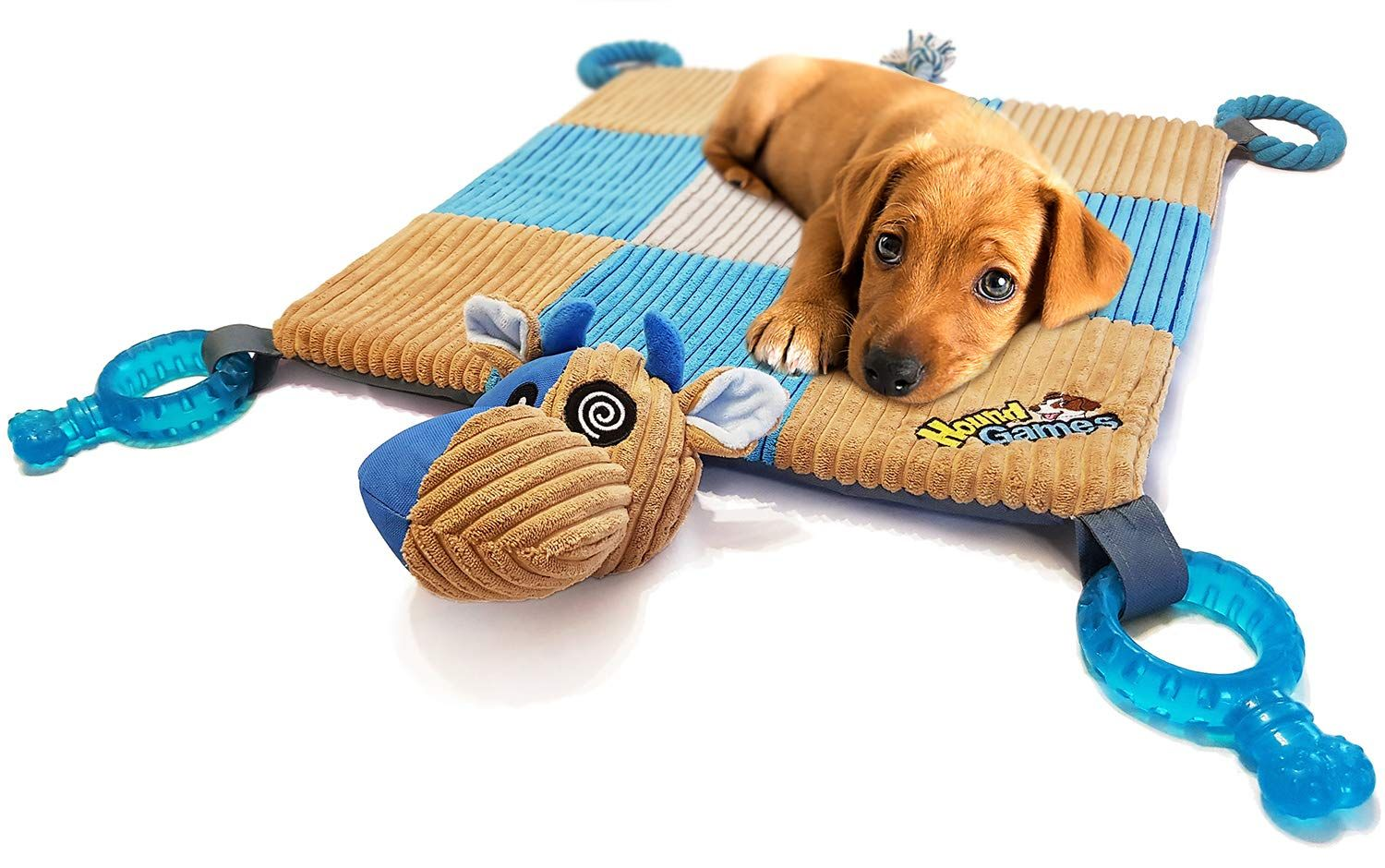 Houndgames The Doggy Play Mat Puppy Chew Toys Teething Ropes