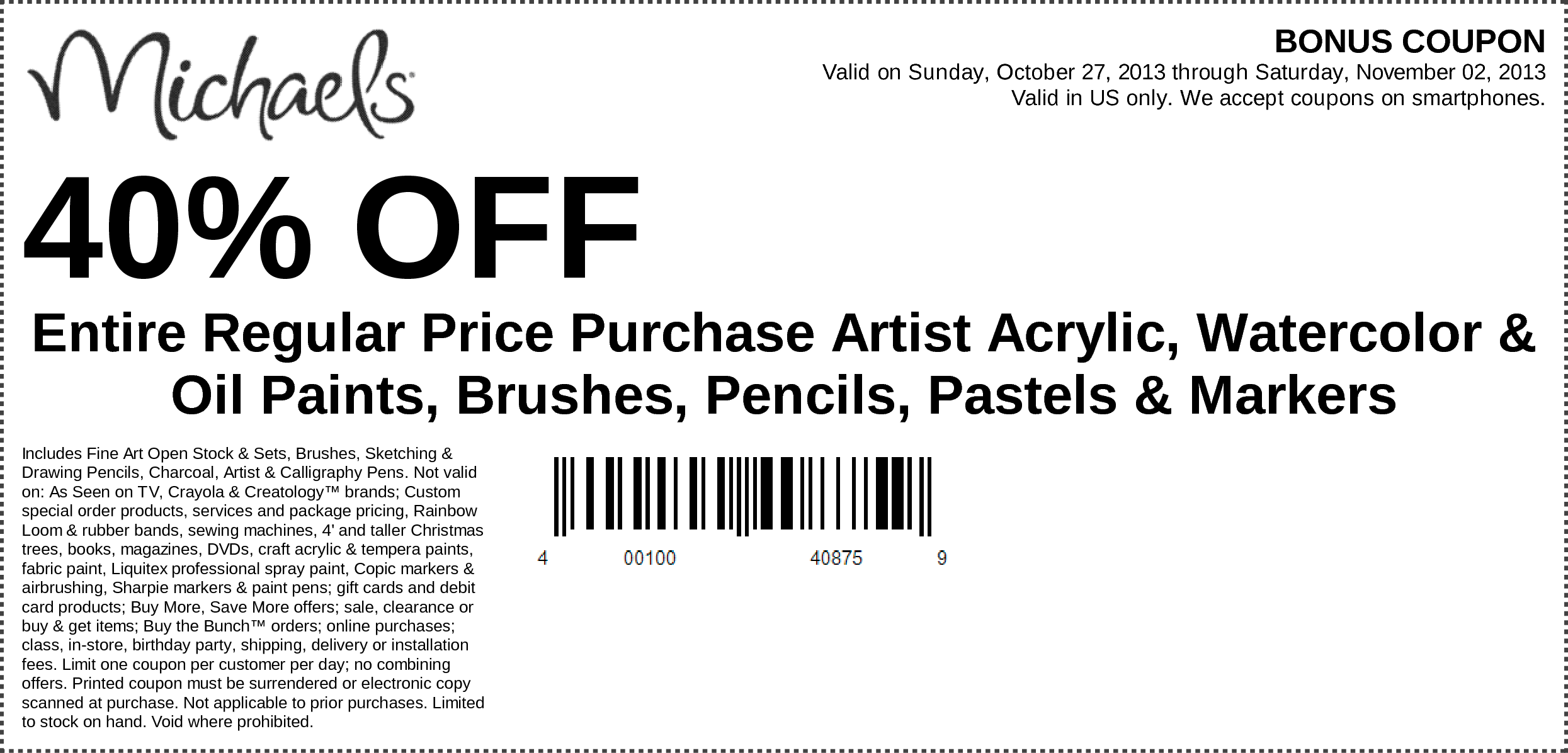Pin By 一针 封 On 3453bhfcc Printable Coupons Coupons Michaels