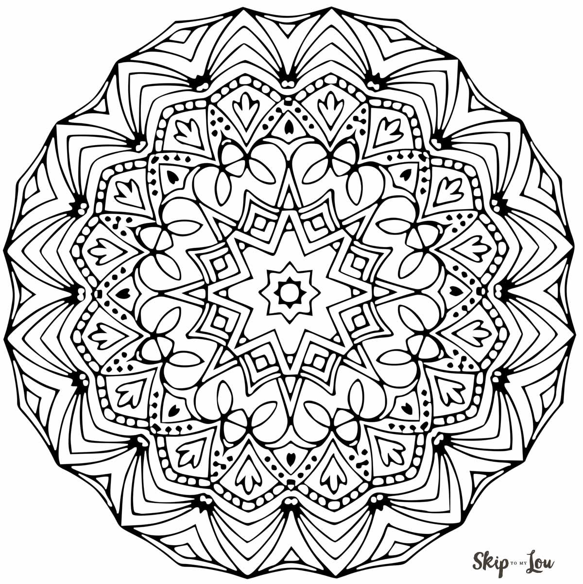 Color your stress away with Mandala coloring pages | Coloriage ...