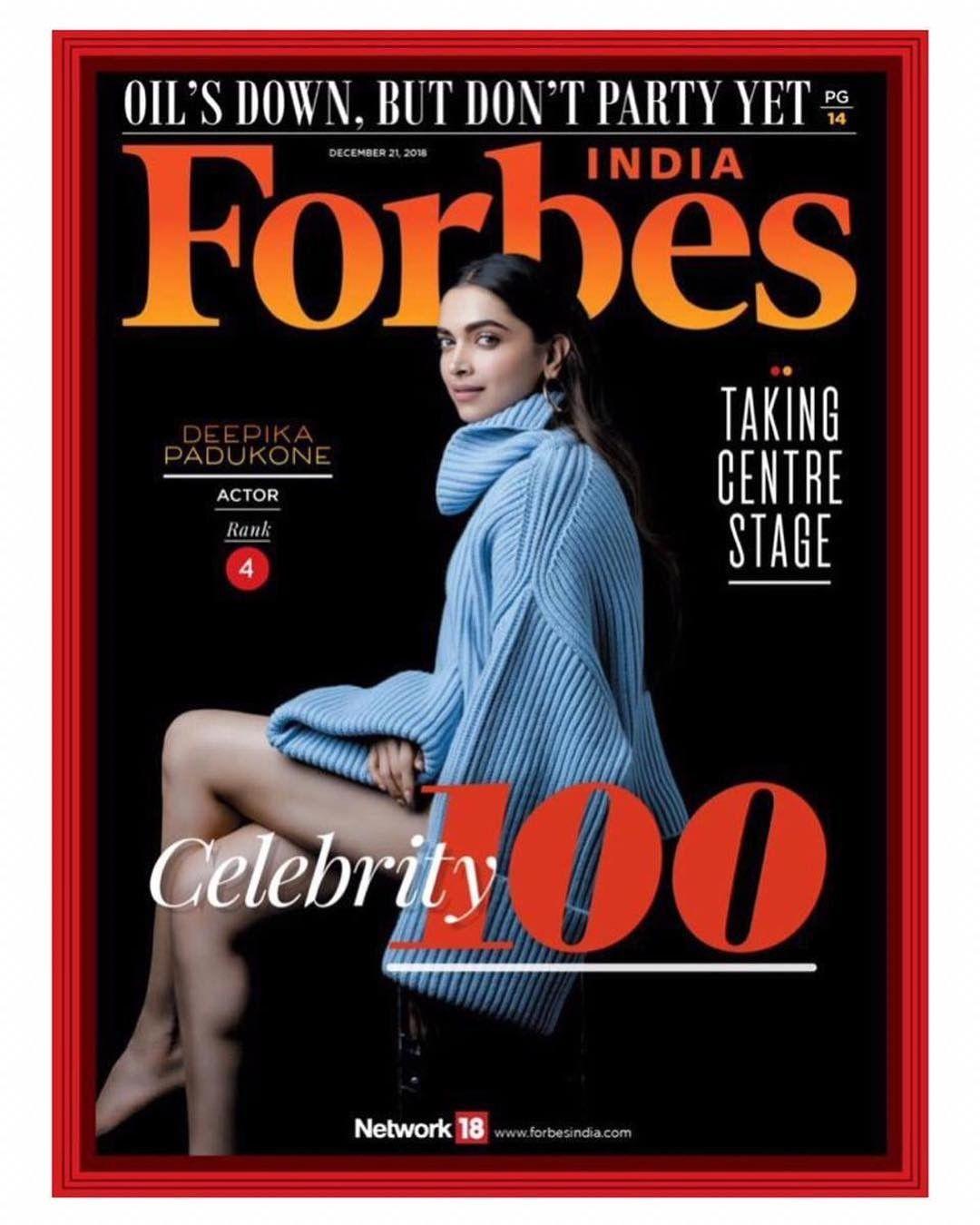 Deepika Padukone In Forbes Cover Capa De Revista Poses Femininas Poses