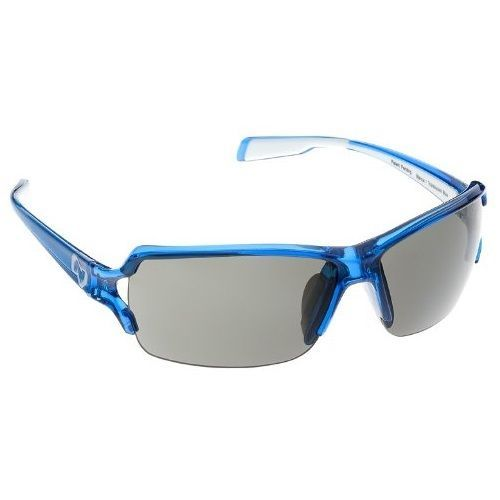 NATIVE Blanca Sunglasses Translucent Blue Polarized PF Grey w/ Optic Gear