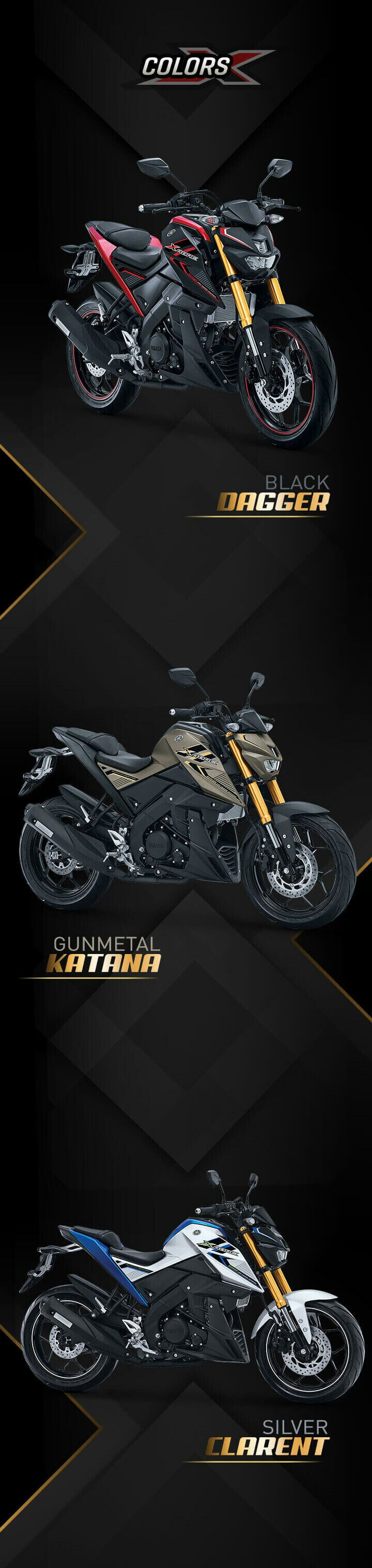 Xabre 150 Yamaha Indonesia 150cc Naked Bike