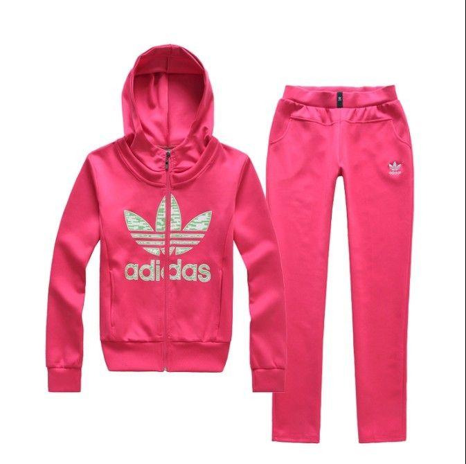 adidas pink tracksuit