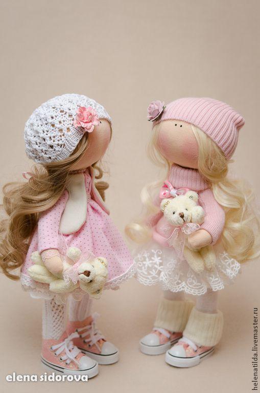 Коллекционные куклы ручной работы. Ярмарка Мастеров - ручная работа Stefani (повтор с изменениями). Handmade.