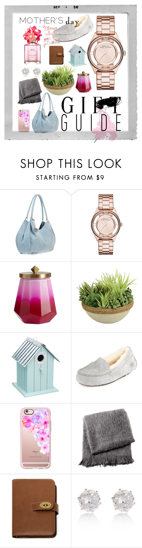 """""""for mom"""" by jennifer-r-heuertz ❤ liked on Polyvore featuring Marc by Marc Jacobs, Illume, Picnic at Ascot, UGG Australia, Casetify, From the Road, Mulberry, River Island, Marc Jacobs and Polaroid"""