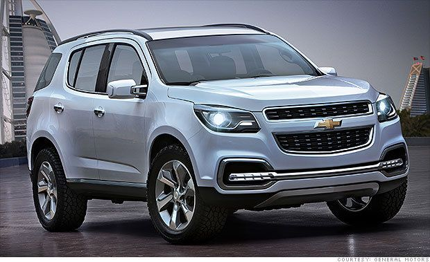 5 Funky Cars We Can T Get In The U S Chevrolet Trailblazer