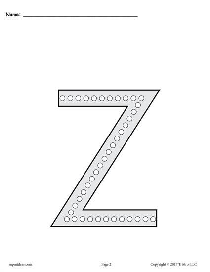 free letter z q tip painting printables includes uppercase and lowercase letter z worksheets. Black Bedroom Furniture Sets. Home Design Ideas
