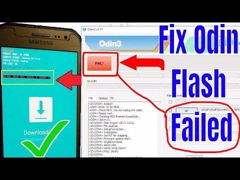 Tech Odin Flash Failed Error – Shredz