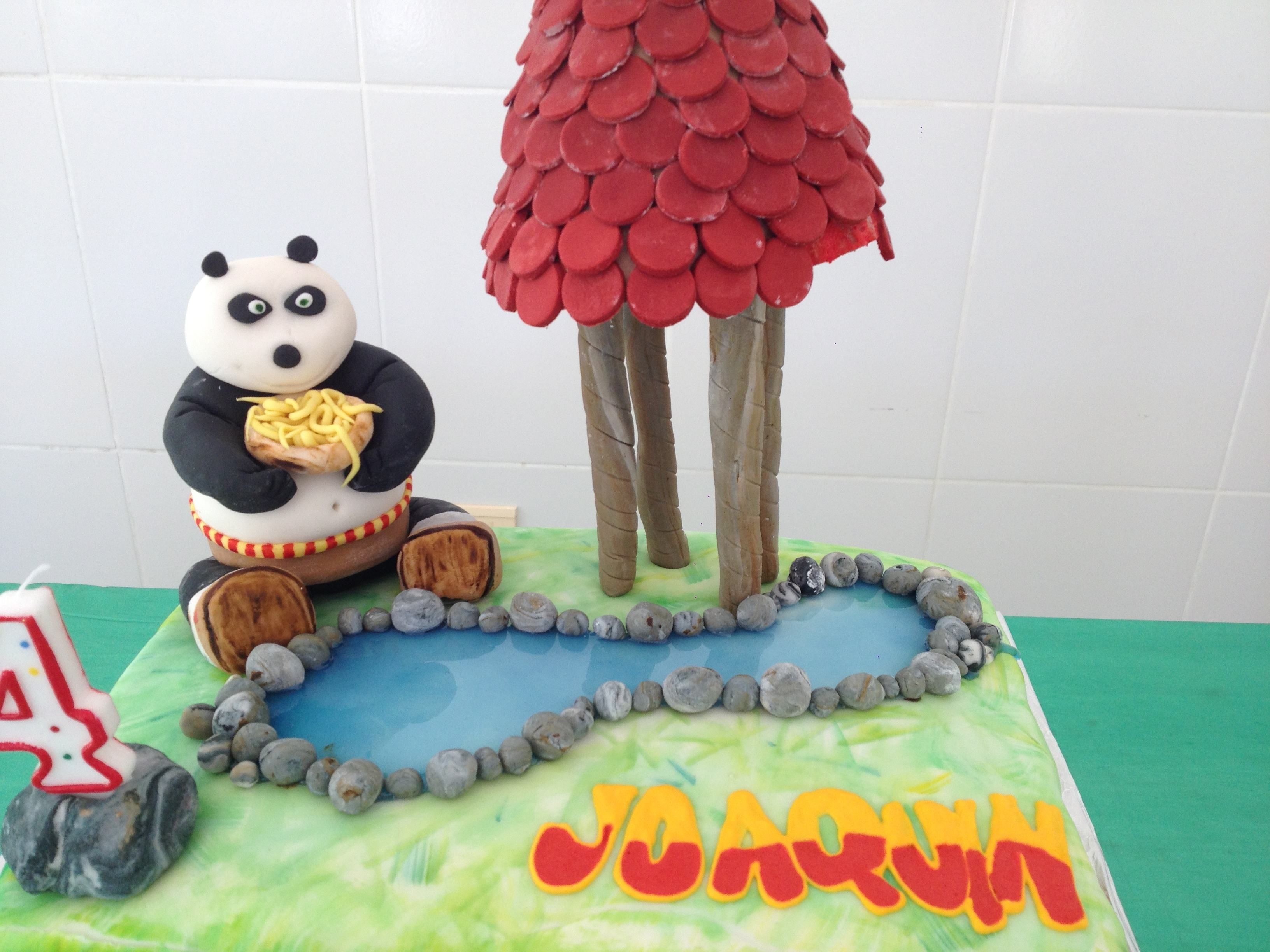 Kungfu Panda Birthday Cake Kaits Birthday Cake Pinterest