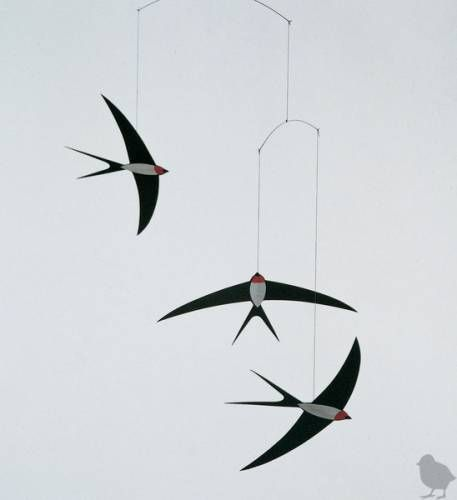 Modern Mobiles For Babies 5 modern mobiles for baby s nursery nurseries baby swallows and