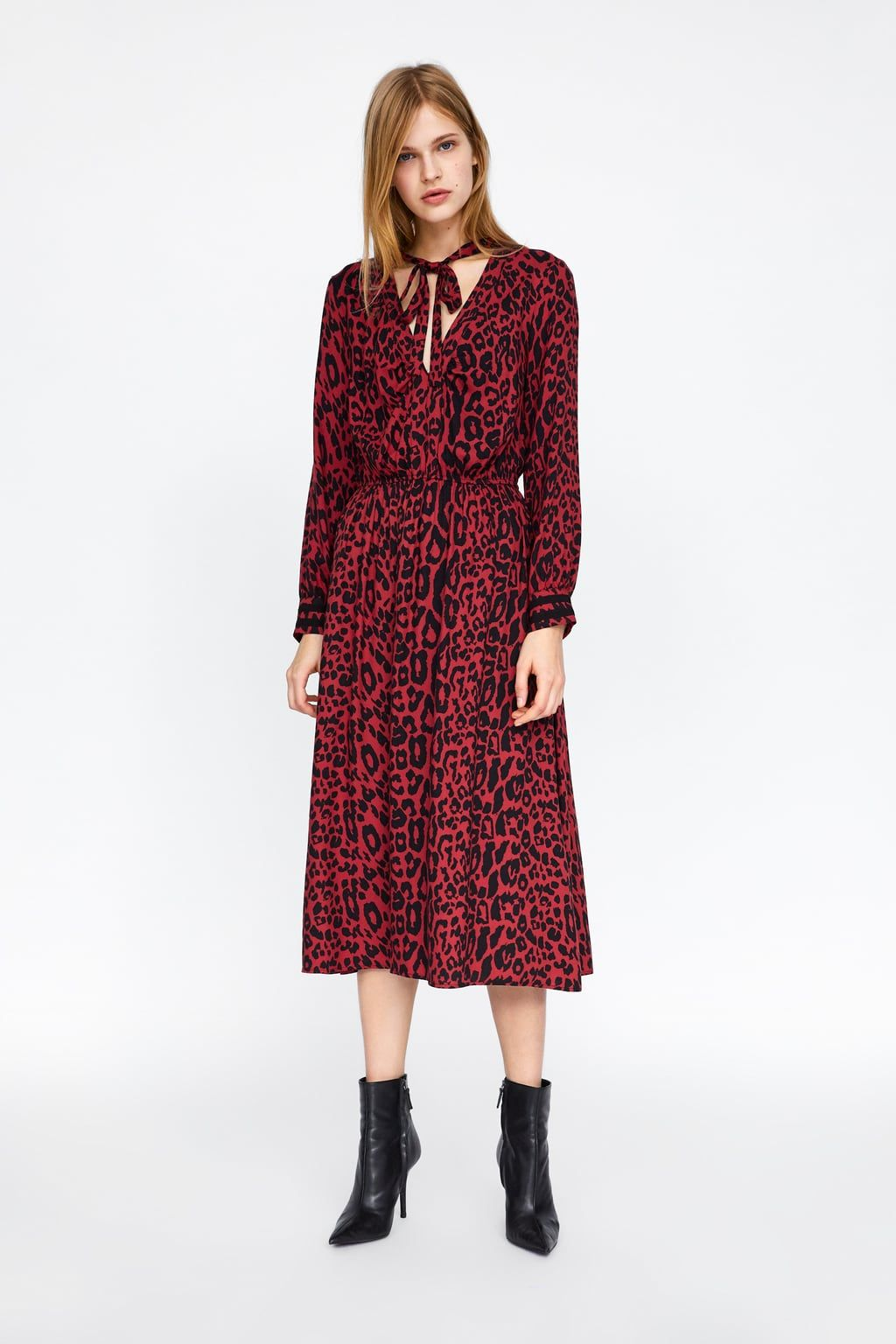 Animal Print Dress In 2019 Animal Print Dresses Dresses