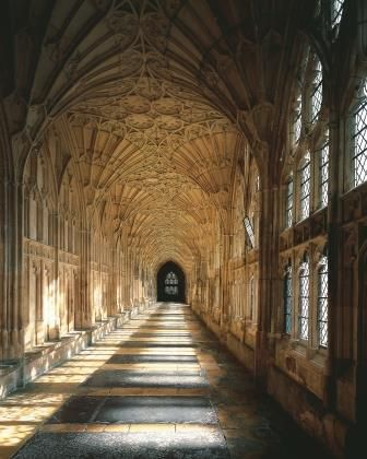 Cloisters Harry Potter England Gloucester Cathedral Harry Potter Tour