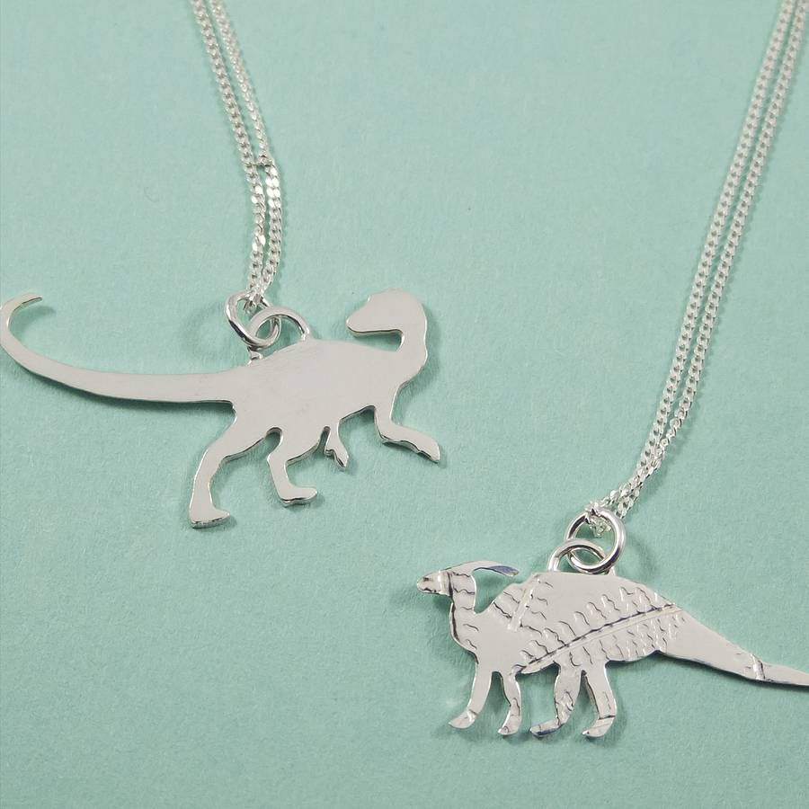dinosaur img roar pendant necklace