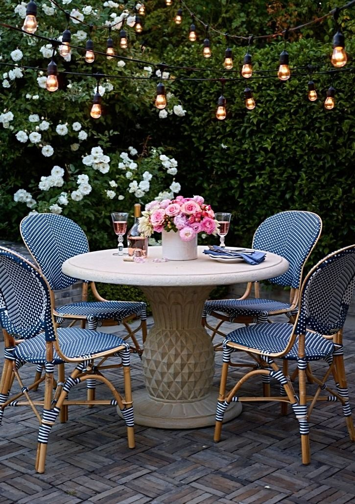 Paris Bistro Collection The Outdoor Living Room Outdoor Dining French Bistro Chairs Bistro